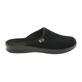 Befado bărbați pantofi pu 548M020 negru
