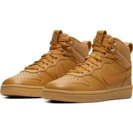 Pantofi Nike Court Borough Mid 2 Boot Jr BQ5440-700 maro