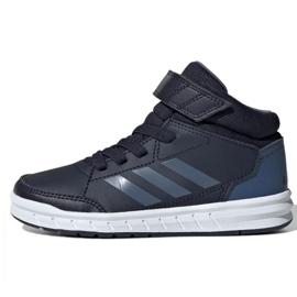 Pantofi Adidas Alkta Sport Mid Jr G27120 bleumarin