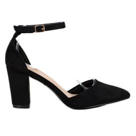 Pompe VINCEZA elegante negru