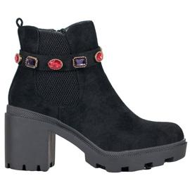 Seastar Boots On Platform negru