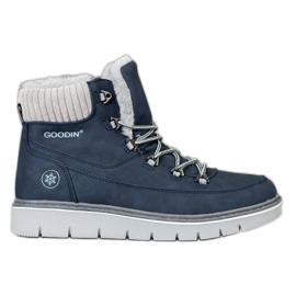 Goodin Trappers pe platformă albastru