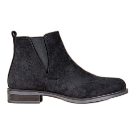 Ideal Shoes Cizme de alunecare negru