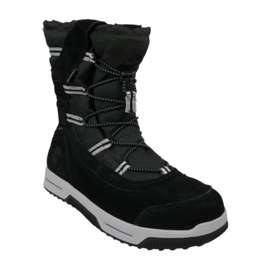 Timberland Snow Stomper Pull On Wp Jr A1UIK pantofi de iarnă negru