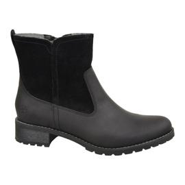 Pantofi de iarnă Timberland Bethel Biker W 6914B negru