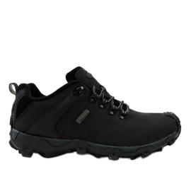 Pantofi negri de trekking MXC-6645 negru