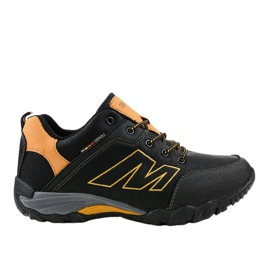 103A pantofi negri de trekking negru