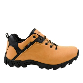 Pantofi de trekking galbeni 2019B
