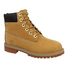 Pantofi Timberland 6 In Premium Wp Boot Jr 12909 galben