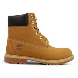 Pantofi Timberland Premium 6 Inch Jr 10361 galben