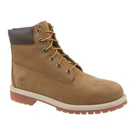 Pantofi Timberland Premium 6 Inch W 14949 maro
