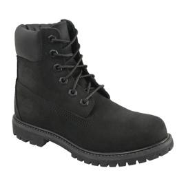 Pantofi Timberland 6 Premium In Boot Jr 8658A negru