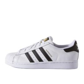 Pantofi Adidas Originals Superstar Fundation Jr C77154 alb
