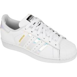 Pantofi Adidas Originals Superstar Jr AQ6278 alb