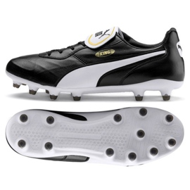 Pantofi de fotbal Puma King Top Fg M 105607 01 negru negru