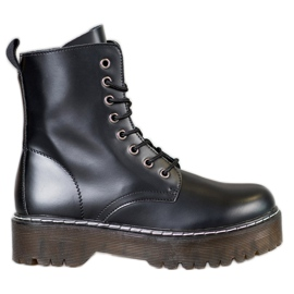 Kylie Pantofi cu platformă negru