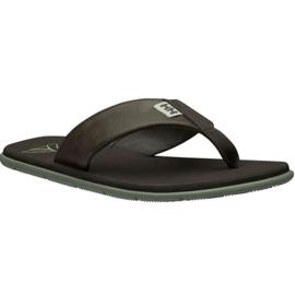 Sandale din piele Helly Hansen Seasand M 11495-713 maro