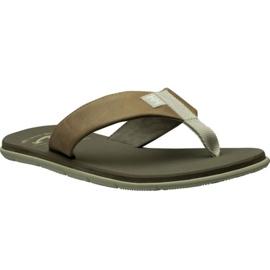Sandale din piele Helly Hansen Seasand M 11495-723 maro