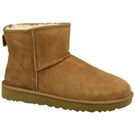 Pantofi Ugg Classic Mini II W 1016222-CHE maro