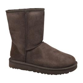 Pantofi Ugg Classic Short II W 1016223-CHO maro