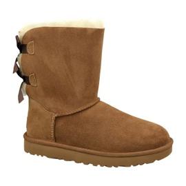 Pantofi Ugg Bailey Bow Ii W 1016225-CHE maro