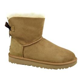 Pantofi Ugg Mini Bailey Bow Ii W 1016501-CHE maro