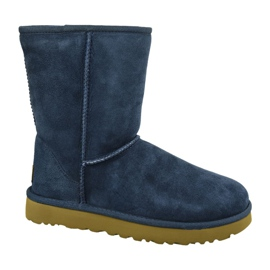 Pantofi Ugg Classic Short II W 1016223-NAVY bleumarin