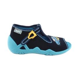 Încălțăminte pentru copii Befado 217P100 albastru marin albastru