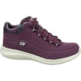 Pantofi Skechers Ultra Flex W 12918-BURG violet