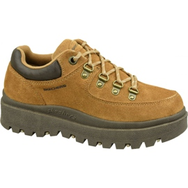 Pantofi Skechers Shindigs-Stompin 48582-TAN maro
