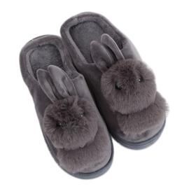 Cizme de iepurași de culoare gri pentru femei MA01 Grey