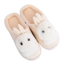 Papuci bej MA01 Bej maro