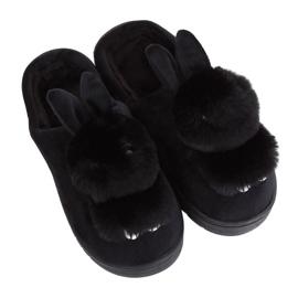 Pantofi pentru femei negru MA01 Negru
