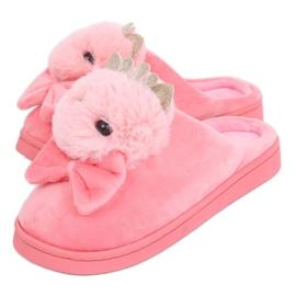 Papuci de damă roz aprins DD112 Lightpink