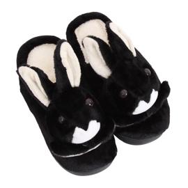 Papuci negri MA17 negri papuci pentru femei negru