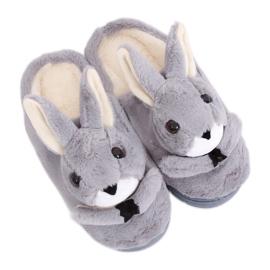 Papuci de damă gri MA17 Grey