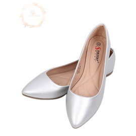 Picioare de balerini din argint cu migdale CD52P Silver gri