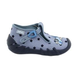 Pantofi pentru copii Befado colorate 110P345 albastru marin albastru