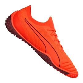 Cizme de fotbal Puma 365 Concrete 1 St M 105752-02 portocaliu portocaliu