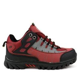 Pantofi roșii pentru femei trekking W317