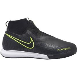 Pantofi de fotbal Nike Phantom Vsn Academy Df Ic Jr AO3290 007 negru negru