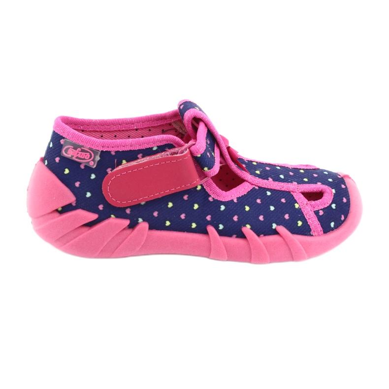 Încălțăminte pentru copii Befado 190P092 albastru marin roz