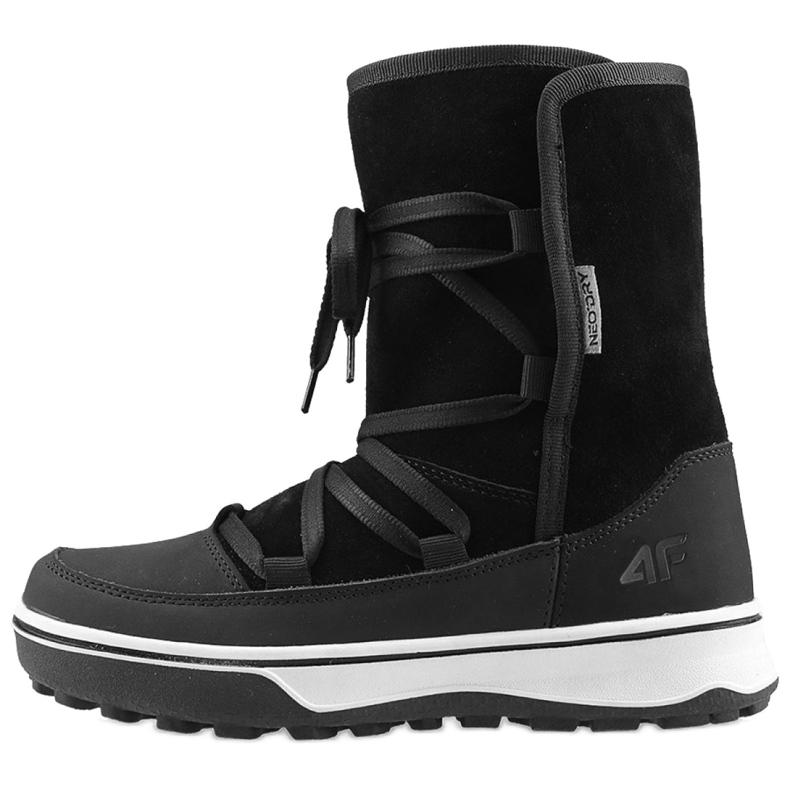 Pantofi de iarnă 4F W D4Z19-OBDH201 21S negru