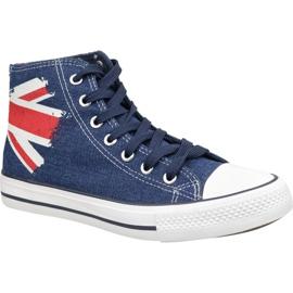Pantofi Lee Cooper High Cut 1 LCWL-19-530-041 albastru
