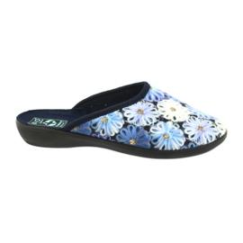 Papuci flip flops 3D Adanex 24192 albastru bleumarin