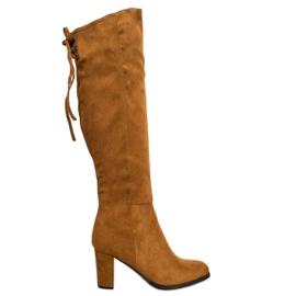 Suede Boots VINCEZA maro