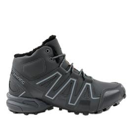 Pantofi de trekking gri izolați BN8810