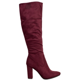 Cizme elegante VINCEZA roșu