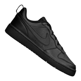 Pantofi Nike Jr Court Borough Low 2 (GS) Jr BQ5448-001 negru