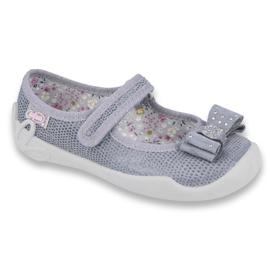 Încălțăminte pentru copii Befado 114X360 roz gri